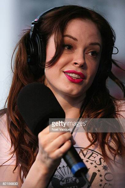 Rose McGowan attends the Tribute To Johnny Ramone at the Forever Hollywood Cemetery on August 1 2008 in Los Angeles California