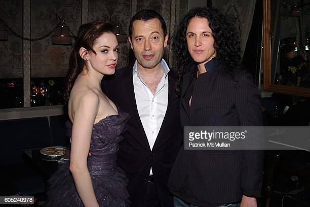 Rose McGowan Colin Callender and Amanda ScheerDemme attend HBO's Annual PreGolden Globes Party hosted by Colin Callender Chris Albrecht and Carolyn...