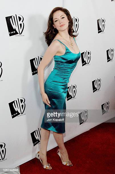 Rose McGowan during 2005 WB Network's All Star Celebration Arrivals at The Cabana Club in Hollywood California United States