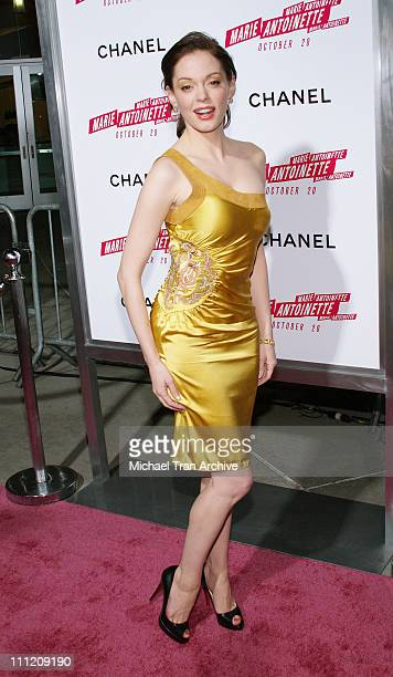 """Rose McGowan during Columbia Pictures and CHANEL Present a Special Screening of """"Marie Antoinette"""" at ArcLight in Hollywood, California, United..."""