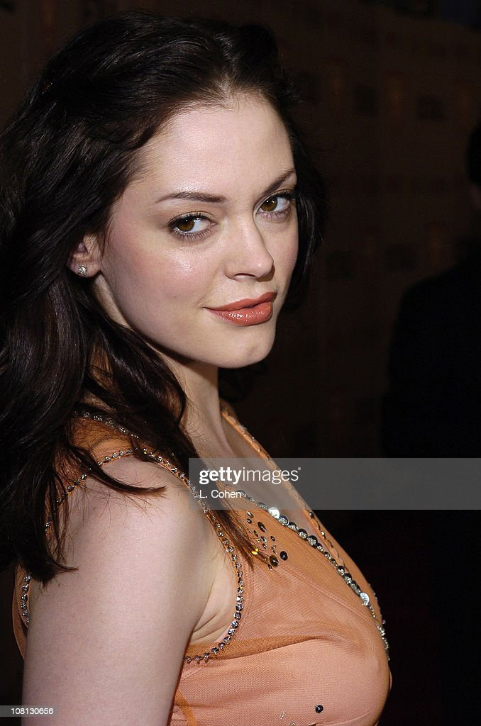 Rose McGowan during Details Magazine and GUESS? Host I Heart Huckabees Premiere - Red Carpet at The Grove in Los Angeles, California, United States.