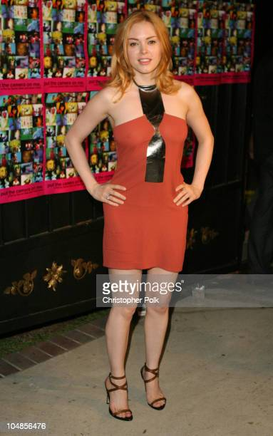 Rose McGowan during Gala Premiere Party for Outfest Film Fest feature Put the Camera on Me at Private Residence in Hollywood CA United States