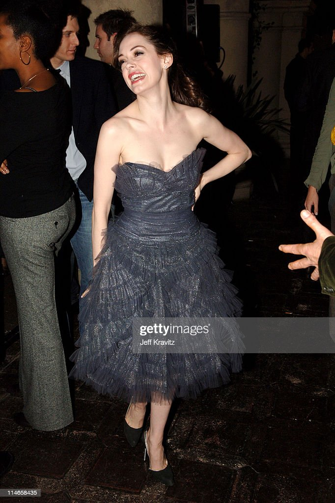 Rose McGowan during HBO's Annual Pre-Golden Globes Private Reception at Chateau Marmont in Los Angeles, California, United States.