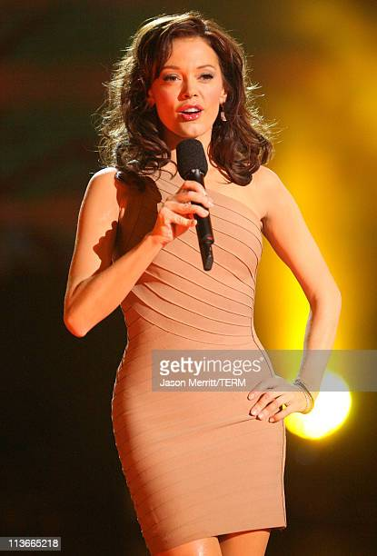 Rose McGowan during Spike TV's Scream Awards 2006 Show at Pantages Theater in Hollywood California United States
