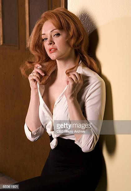 Rose McGowan stars as AnnMargret one of Elvis Presley's love interests in ELVIS a fourhour miniseries which will be broadcast as the 'CBS Sunday...