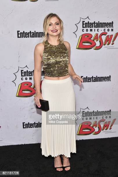 Rose McIver at Entertainment Weekly's annual ComicCon party in celebration of ComicCon 2017 at Float at Hard Rock Hotel San Diego on July 22 2017 in...