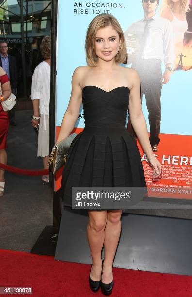 Rose McIver attends the 'Wish I Was Here' Los Angeles premiere on June 23 2014 at the DGA Theater in Los Angeles California