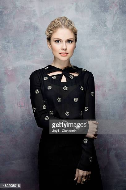 Rose McIver of 'iZombie' poses for a portraits at ComicCon International 2015 for Los Angeles Times on July 9 2015 in San Diego California PUBLISHED...
