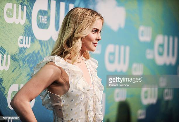Rose Mclver of the series 'iZombie' attends The CW Network's 2016 New York Upfront at The London Hotel on May 19 2016 in New York City