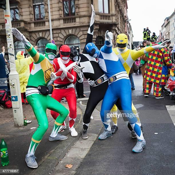 Karneval Rose Monday Parade Mainz 2014-Superhelden