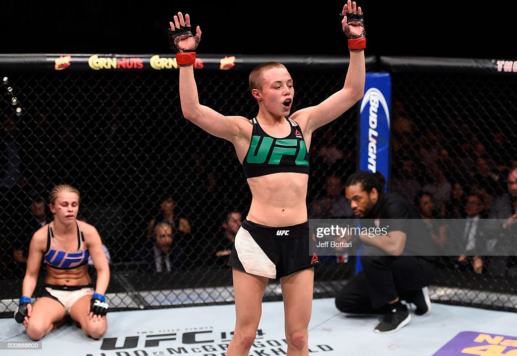 UFC Fight Night: Namajunas v VanZant : News Photo