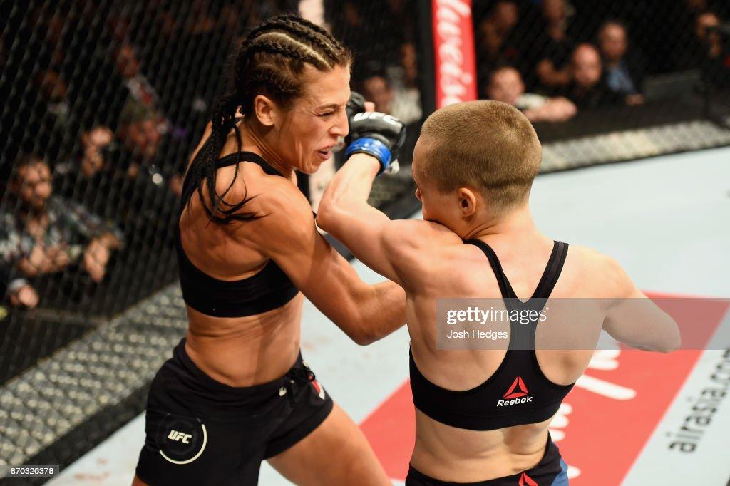 UFC 217: Jedrzejczyk v Namajunas : News Photo