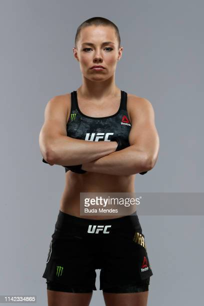Rose Namajunas of the United States poses for a portrait during a UFC photo session on May 08, 2019 in Rio de Janeiro, Brazil.