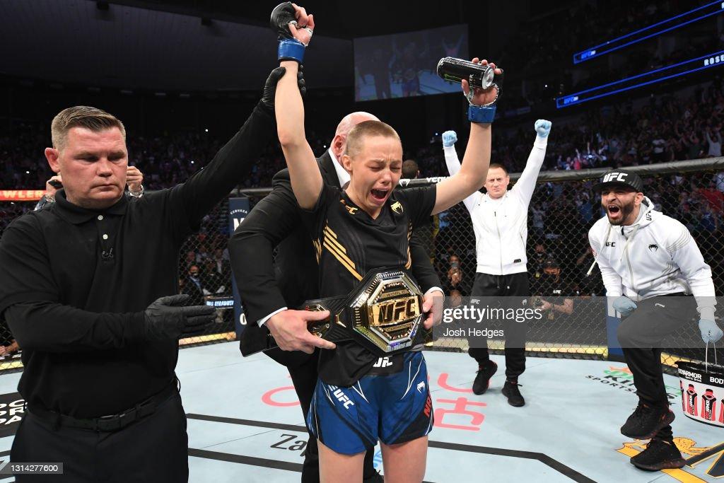 UFC 261: Zhang v Namajunas : ニュース写真