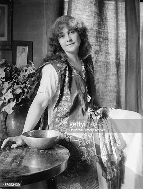 Rose O'Neill illustrator and originator of the Kewpie doll by American Photographer Gertrude Käsebier 18521934 Rose O'Neill fulllength portrait...