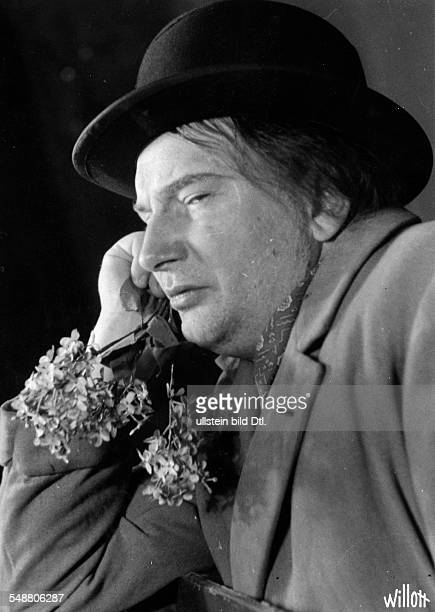 Rose Paul Actor Germany *19001973 In his role as 'Die Ratten' Photographer Charlotte Willott 1938 Vintage property of ullstein bild