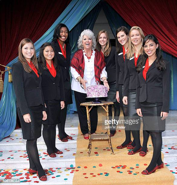 Rose Princess Jessica Michelle Montoya Rose PrincessTenaya Miyoko Senzaki Rose Princess Michelle Kay Washington Grand Marshall Chef Paula Deen Rose...