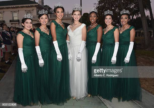Rose Princess Sarah Sumiko Shaklan Rachelle Chacal Renee Liu Bryce Marie Bakewell Queen Erika Karen Winter Princess Regina Marche Pullens Natalie...