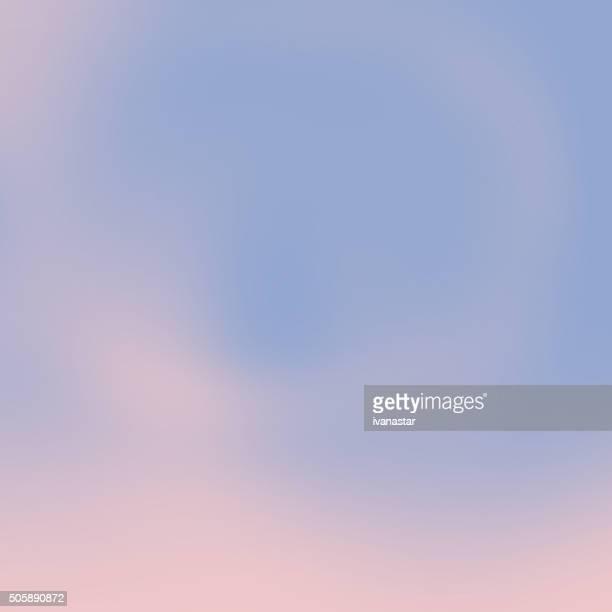 Cuarzo rosa Rosa y serenidad Blured fondo azul