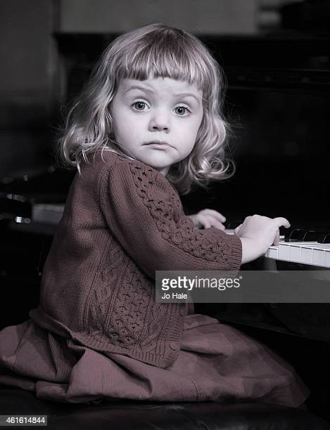 Rose Redfern Grand Daughter of David Redfern plays the Piano at Ronnie Scott's Jazz Club on January 13 2015 in London United Kingdom