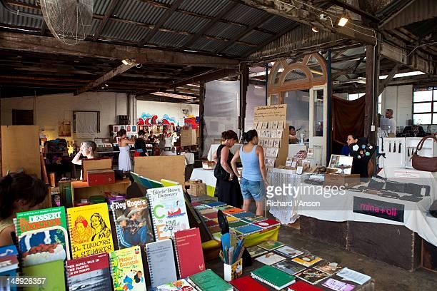 Rose Street Artist Market in Fitzroy.