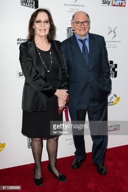 Rose Tremain and Richard Holmes attend The Southbank Sky Arts Awards 2017 at The Savoy Hotel on July 9 2017 in London England
