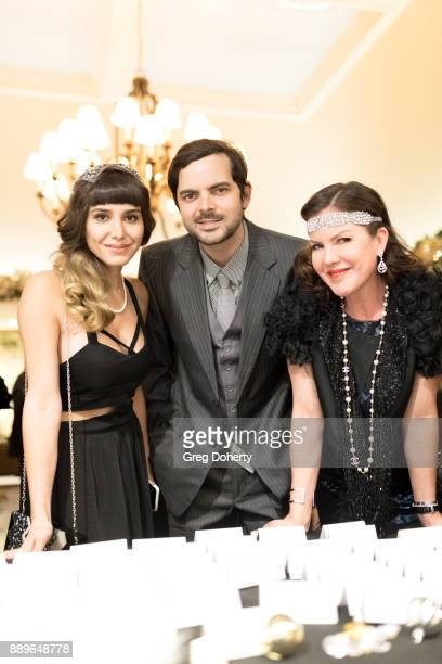 Rose Troutman Kira Reed Lorsch and Lee Troutman attend The Thalians Hollywood for Mental Health Holiday Party 2017 at the Bel Air Country Club on...