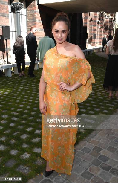 Rose Williams attends the Roland Mouret show during London Fashion Week September 2019 on September 15 2019 in London England