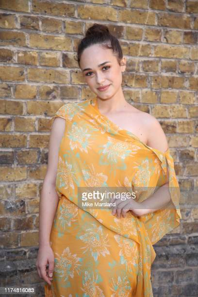 Rose Williams during at the Roland Mouret show at London Fashion Week September 2019 on September 15 2019 in London England