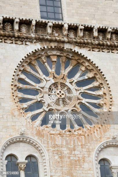 Rose window of Cathedral of San Nicola Pellegrino