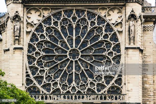 Rose Window of Notre Dame Cathedral, Paris