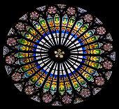 Rose window, Strasbourg Cathedral, France