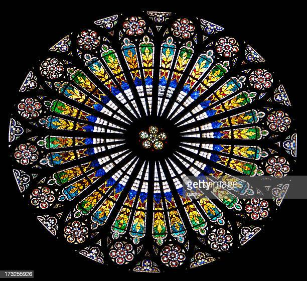 Rose window, Strasbourg Cathedral, France