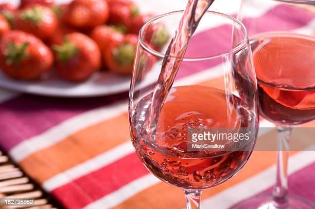 Rose Wine Picnic