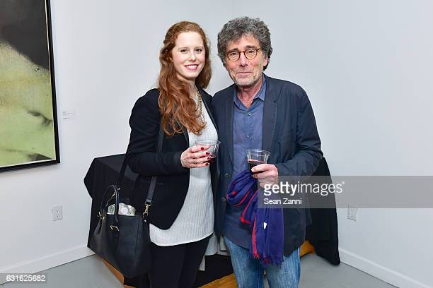 Rose Winer and Harry Winer attend Westwood Gallery NYC Celebrates Exhibition Opening for Boris Lurie Life After Death at Westwood Gallery NYC on...