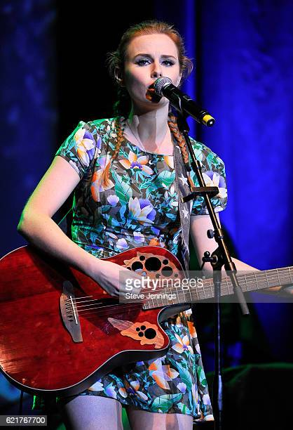Roseanna Brown of The Rua performs on Day 2 of Live In The Vineyard at the Uptown Theater Napa on November 5, 2016 in Napa, California.