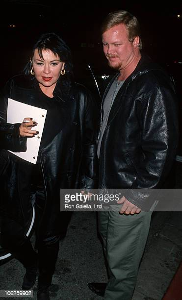 Roseanne and Ben Thomas during Roseanne Sighting at Coronet Theater in Los Angeles November 21 1994 at Coronet Theater in Los Angeles California...