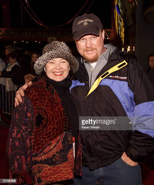 Roseanne and her husband Ben Thomas arrive at Disney's California Adventure for a private preopening party for celebrities and special guests on...