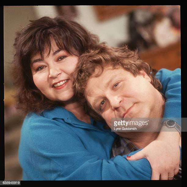 Roseanne and John Goodman