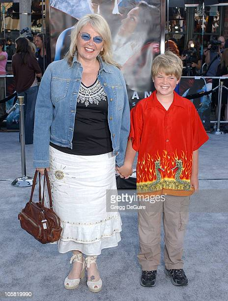 Roseanne and Son during World Premiere of 'Superman Returns' Arrivals at Mann's Village and Bruin Theaters in Westwood California United States
