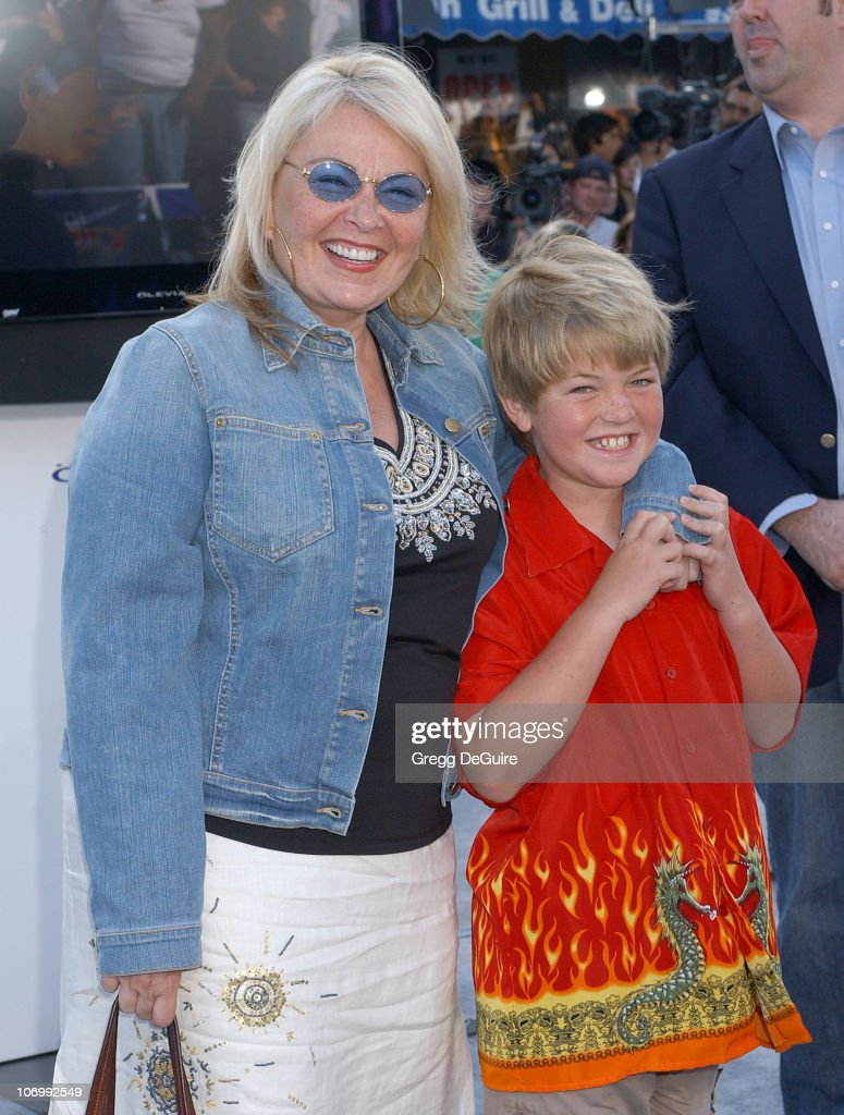 Roseanne and Son during World Premiere of 'Superman Returns' - Arrivals at Mann's Village and Bruin Theaters in Westwood, California, United States.