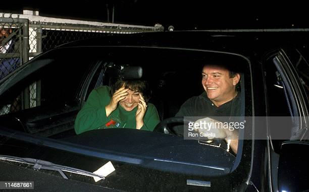 Roseanne and Tom Arnold during Roseanne and Tom Arnold Sighted at The Improv in New York City September 8 1989 at The Improv in New York City New...