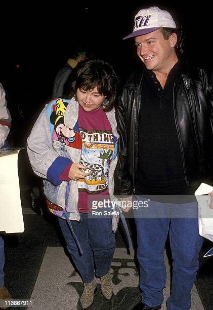 Roseanne and Tom Arnold during Roseanne and Tom Arnold Sighting at Ritz Carlton Hotel in New York City November 28 1989 at Ritz Carlton Hotel in New...