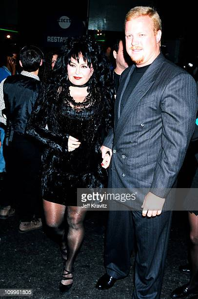 Roseanne Barr and Ben Thomas during 1994 MTV Video Music Awards at Radio City Music Hall in New York City New York United States