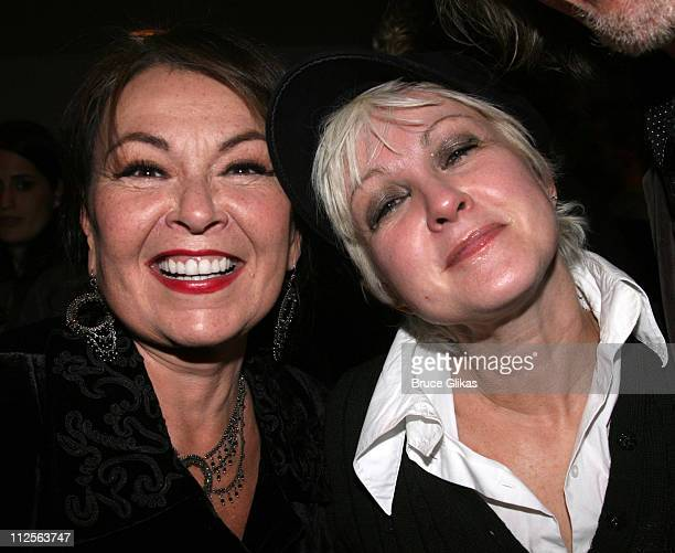 COVERAGE*** Roseanne Barr and Cyndi Lauper pose backstage at The 4th Annual New York Comedy Festival at Lincoln Center's Avery Fisher Hall on...