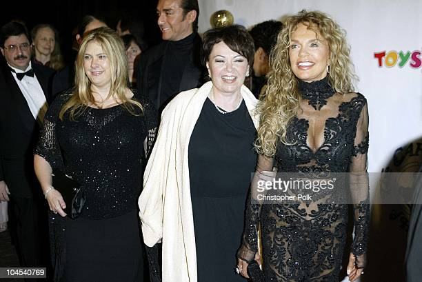 Roseanne Barr and Dyan Cannon during Carousel of Hope Benefitingthe Barbara Davis Center For Childhood Diabetes at Beverly Hilton Hotel in Los...