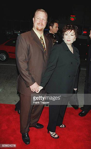 Roseanne Barr and her husband Ben Thomas arrive at the Mann's Bruin Theater
