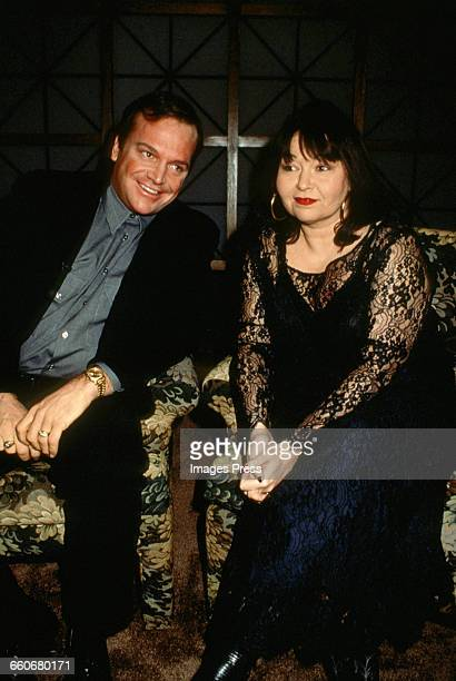 Roseanne Barr and husband Tom Arnold circa 1993 in New York City