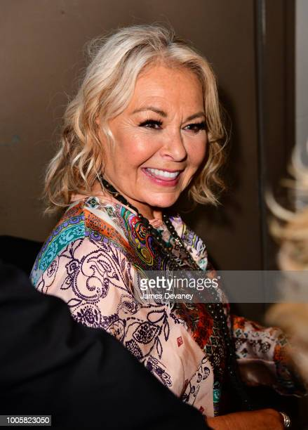 Roseanne Barr arrives at Stand Up NY on July 26, 2018 in New York City.