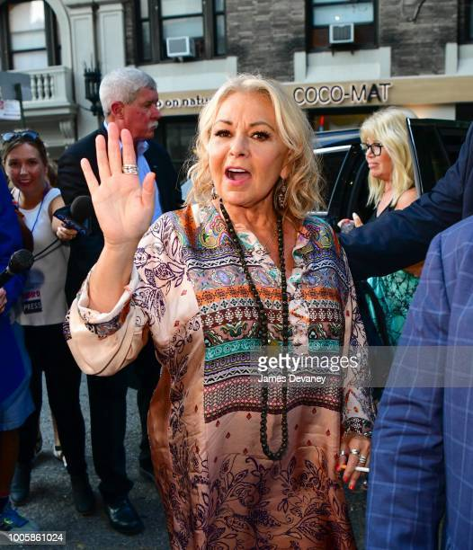Roseanne Barr arrives to Stand Up NY on July 26, 2018 in New York City.